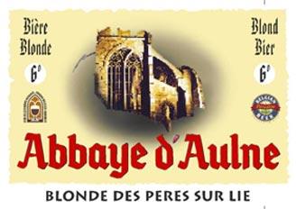 Abbaye d'Aulne Blonde des Peres sur lie