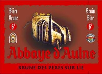 Abbaye d'Aulne Brune des Peres sur lie