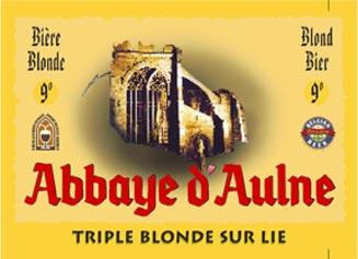 Abbaye d'Aulne Triple Blonde sur lie
